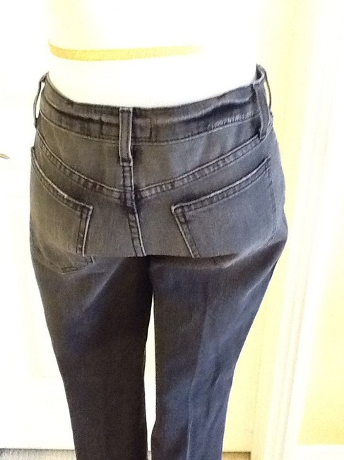 Current/Elliott Cotton Machine Washable Made In Usa Skinny Jeans-Light Wash Image 6