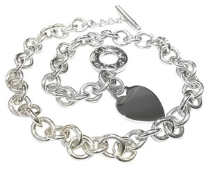 Tiffany & Co. Tiffany And Company Heart Tag Toggle Necklace Sterling Silver