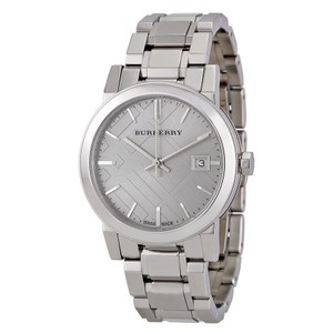 Burberry Burberry Ladies Watch- The City Watch Silver-tone Stainless Steel
