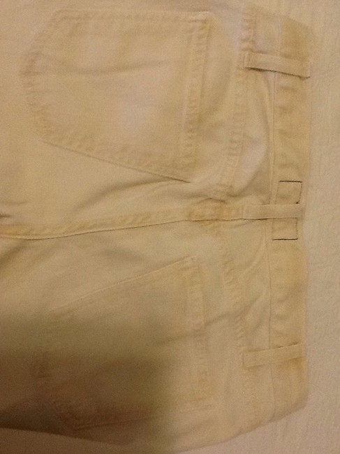 Current/Elliott Cotton Machine Washable Made In Usa Capri/Cropped Denim-Light Wash Image 5