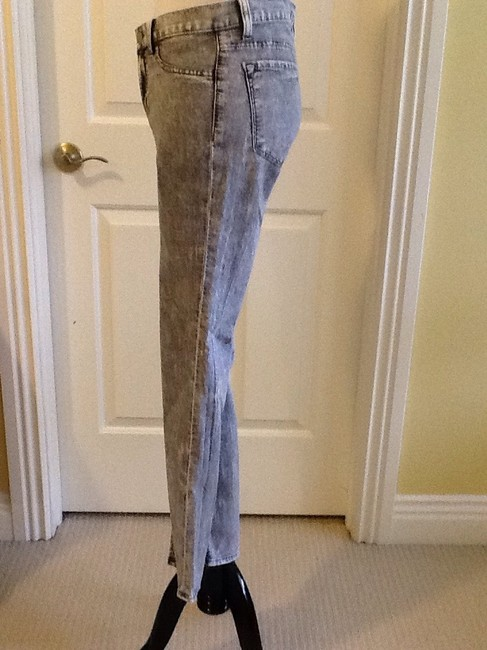 J Brand Cotton Machine Washable Made In Usa Lycra Skinny Jeans-Light Wash Image 3