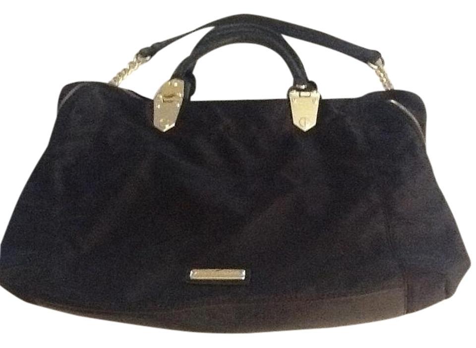 Steve Madden Nylon Shoulder Purse Satchel In Black
