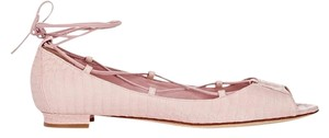Manolo Blahnik Light Pink Flats