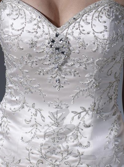 Ivory 18855 Formal Wedding Dress Size 6 (S) Image 2