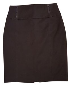 Express Pencil Suit Mini Skirt Black