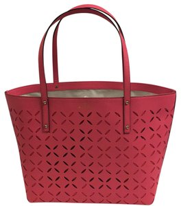 Kate Spade Tote in Peony Pink