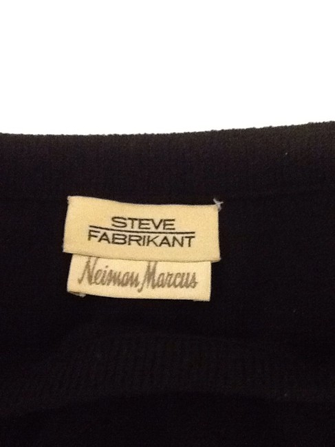 sieve fabricant neiman marcus 75% Wool 25% Rayon Dryclean Only Made In Usa Skirt black Image 1