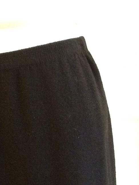 sieve fabricant neiman marcus 75% Wool 25% Rayon Dryclean Only Made In Usa Skirt black Image 4