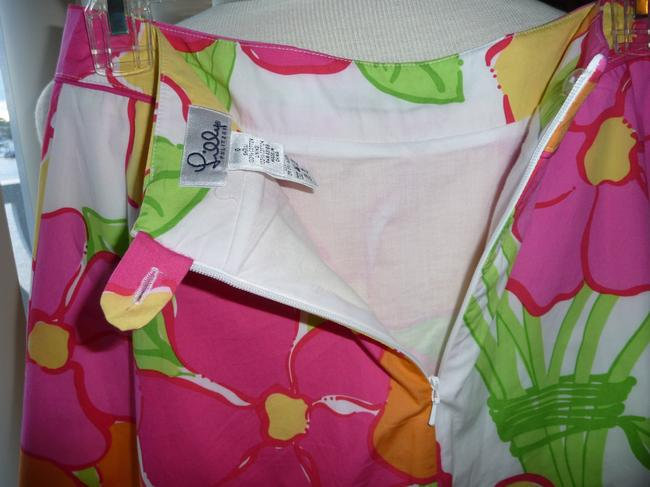 Lilly Pulitzer Skirt Multi-colored; Fuscia, Yellow, Green, Tangerine and White Image 5