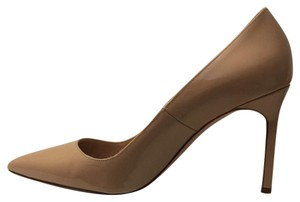 Manolo Blahnik Camel Pumps