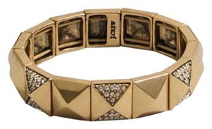 J.Crew NEW!!! Tags J. Crew Gold Crystal Pyramid Stud Bracelet