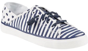 Sperry Blue/White Flats