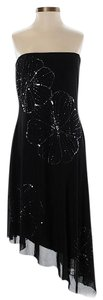 BCBGMAXAZRIA Embellished Strapless Dress