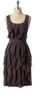 Anthropologie Ric Rac Rising Vapors Ruffle Stretchy Dress