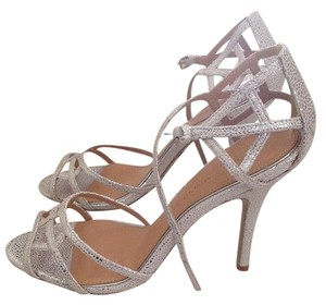 Badgley Mischka Formal Silver Sandals