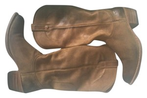 Frye Western Cowboy Distressed Leather Boots