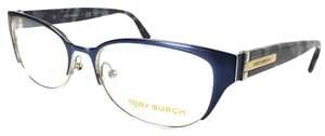 Tory Burch NEW Tory Burch Eyeglasses Blue Silver