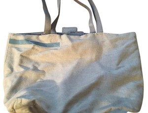 Prada Vintage Tote in Gray/Blue