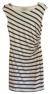 Ann Taylor LOFT short dress Navy/White Striped Nautical Preppy Sailing Boating on Tradesy
