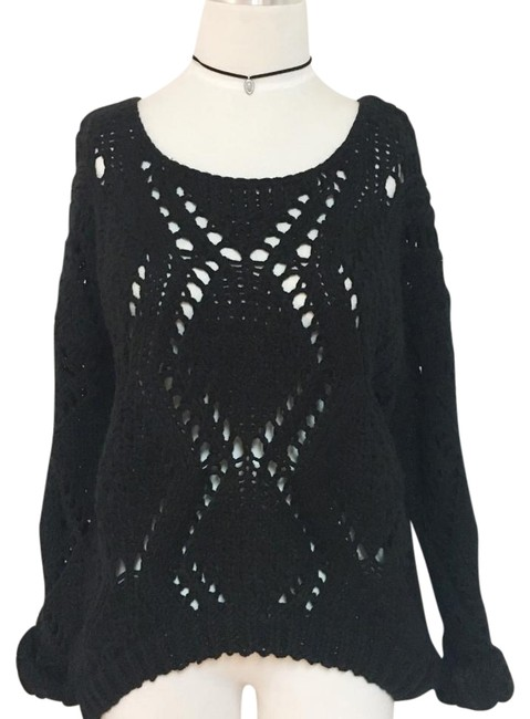 Preload https://img-static.tradesy.com/item/20230641/lf-thick-cable-knit-blk-sweater-0-1-650-650.jpg