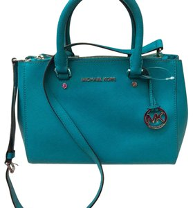 MICHAEL Michael Kors Satchel in Tile Blue
