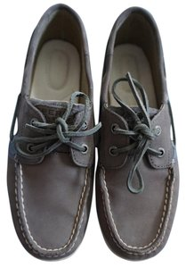 Sperry Graphite Flats