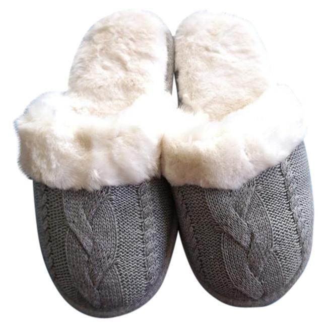 Item - Gray Slippers Mules/Slides Size US 7.5 Regular (M, B)