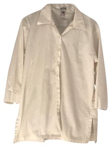 French Dressing Jeanswear Vintage Button Down Shirt White
