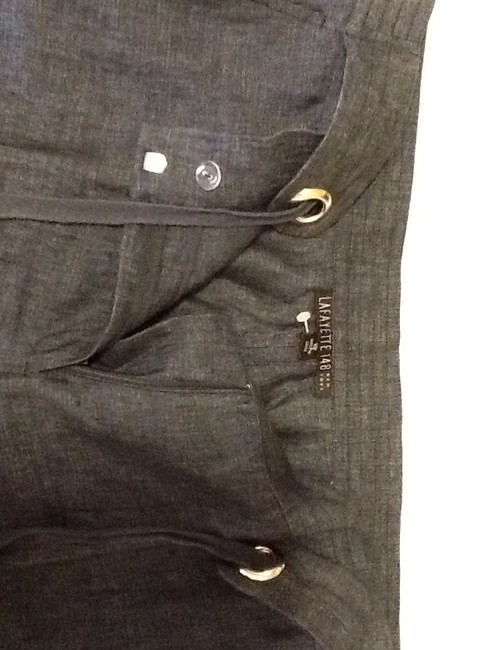 Lafayette 148 New York Made In China Linen Dry-clean Machine Washable Relaxed Pants blue Image 2