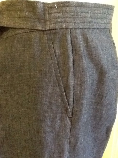 Lafayette 148 New York Made In China Linen Dry-clean Machine Washable Relaxed Pants blue Image 4