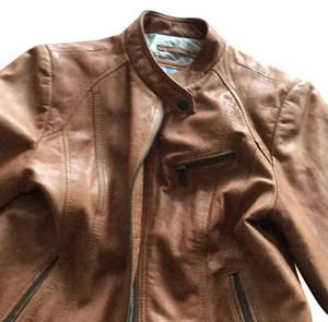 Marc Jacobs Camel Leather Jacket