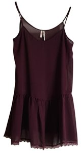 Frenchi Top Burgundy