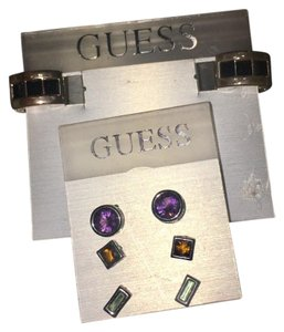 Guess Brand New! 4 Pairs of Guess Earrings