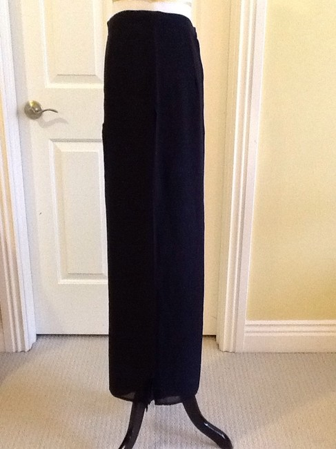 Cache Sheer Dryclean Only Maxi Skirt black Image 2