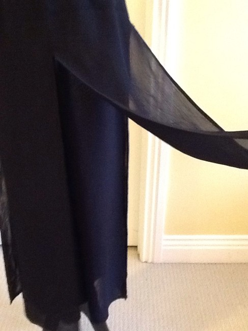 Cache Sheer Dryclean Only Maxi Skirt black Image 4
