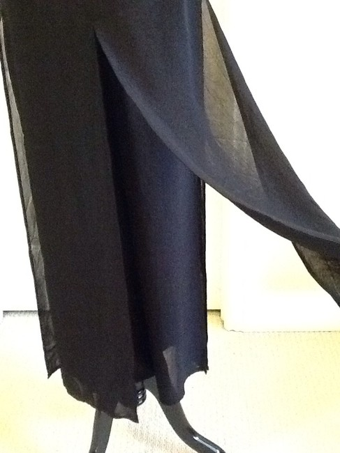 Cache Sheer Dryclean Only Maxi Skirt black Image 9