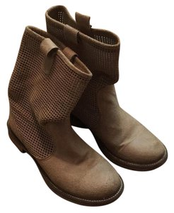 Charles David Suede Beige Boots