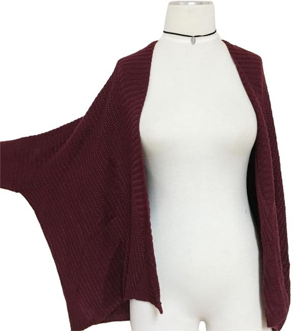 Preload https://img-static.tradesy.com/item/20231048/lf-burgundy-oversized-loose-slouch-knit-sweater-cardigan-size-4-s-0-1-650-650.jpg