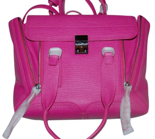 3.1 Phillip Lim Satchel in fuschia pink