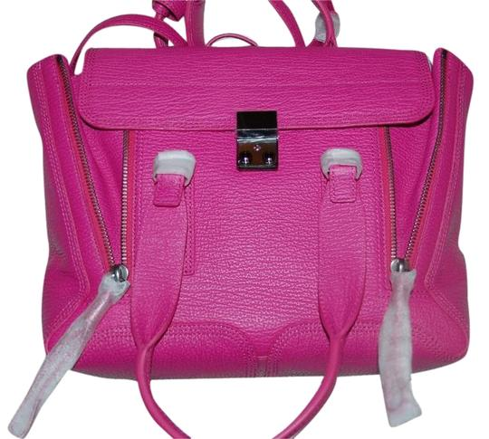 Preload https://img-static.tradesy.com/item/2023107/31-phillip-lim-new-pashli-medium-pink-leather-satchel-0-1-540-540.jpg