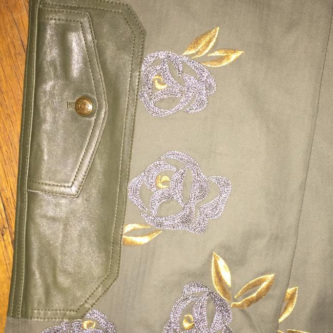 Dior Straight Pants Green and gold Image 4