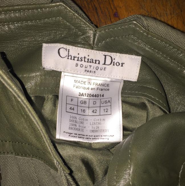 Dior Straight Pants Green and gold Image 6
