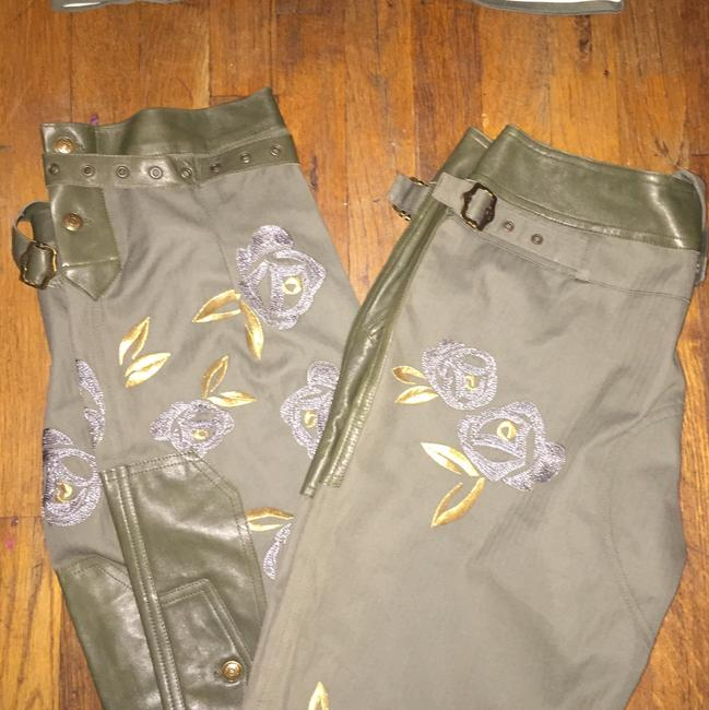 Dior Straight Pants Green and gold Image 7