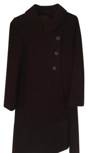 Cole Haan Brown Wool Coat