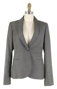 Stella McCartney Classic Designer Wool Gray Blazer