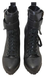 Kelsi Dagger Military Lace-up Black Boots