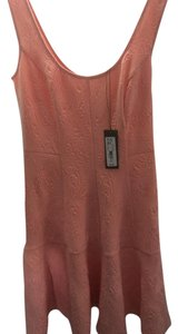 Eva Mendes New York & Company short dress Light Peach/Pink Holiday Years Year Embellished on Tradesy