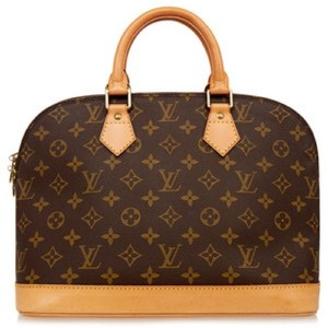Louis Vuitton Alma Monogram Alma Satchel in Lv
