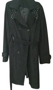 Sparkle & Fade Urban Outfitters Trench Belted Coat