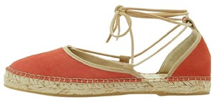 Free People Suede Espadrille coral Sandals